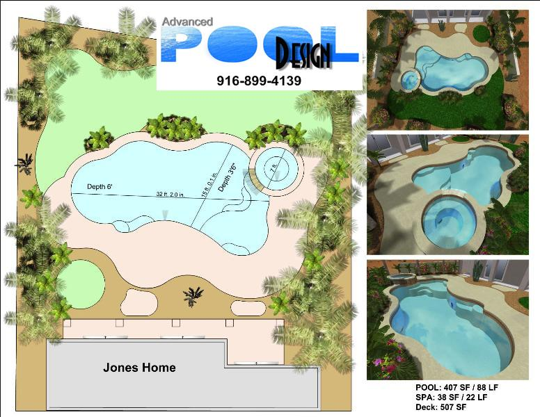 Advanced pool design swimming pool design swimming pool for Pool design templates