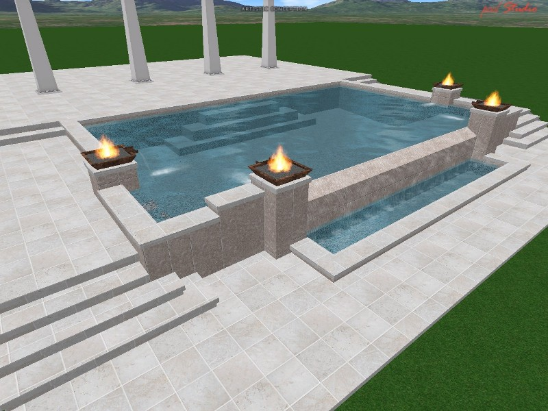 Advanced pool design swimming pool design swimming pool for Pool design polen